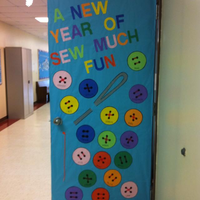 Classroom Decorating Ideas Uk ~ Decorative classroom doors the learning sally tippett