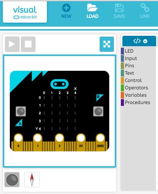 BBC Micro:bit emulator